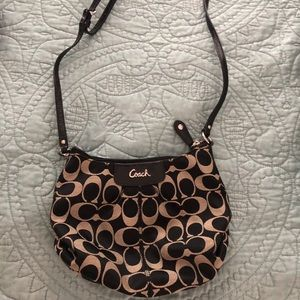 Adjustable Strap Coach Purse